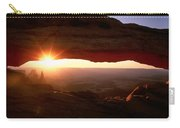 Sunrise On Mesa Arch Carry-all Pouch
