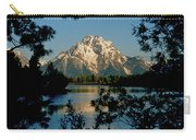 Sunrise On Mount Moran Carry-all Pouch