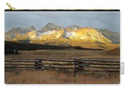 Sunrise On Sawtooth Mountains Idaho Carry-all Pouch