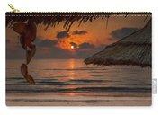 Sunrise On The Beach Carry-all Pouch