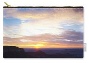 Sunrise On The Colorado Plateau Carry-all Pouch
