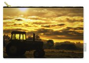 Sunrise On The Deere Carry-all Pouch