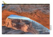 Sunrise On The Edge Carry-all Pouch