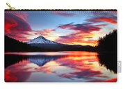 Sunrise On The Lake Carry-all Pouch by Darren  White