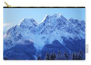 Sunrise On The Alps Carry-all Pouch