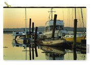 Sunrise On The Petaluma River Carry-all Pouch by Bill Gallagher