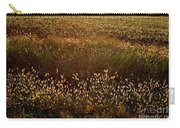 Sunrise On Wild Grass Carry-all Pouch
