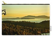 Sunrise Over Bellingham Bay Carry-all Pouch