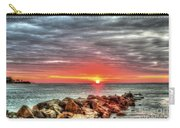 Sunrise Over Breech Inlet On Sullivan's Island Sc Carry-all Pouch