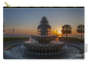 Sunrise Over Downtown Charleston  Carry-all Pouch