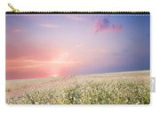 Sunrise Over Flower Land Carry-all Pouch