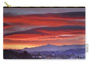 Sunrise Over Granada And The Alhambra Castle Carry-all Pouch
