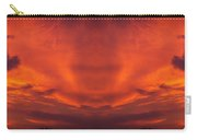 Sunrise Over Jackson Michigan Mirror Image Carry-all Pouch