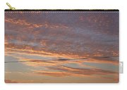 Sunrise Over Lake Manistee Carry-all Pouch