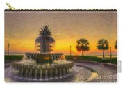 Sunrise Over Pinapple Fountain Carry-all Pouch