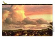 Sunrise Over Strawberry Estate - Horizontal Carry-all Pouch