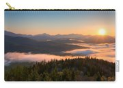 Sunrise Over The Adirondack High Peaks Carry-all Pouch