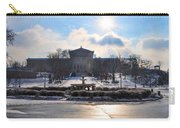 Sunrise Over The Art Museum In Winter Carry-all Pouch