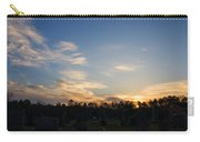 Sunrise Over The Cemetary Carry-all Pouch