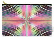Sunrise Over The Waterfalls Fractal Carry-all Pouch