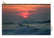 Sunrise Over Waves Carry-all Pouch