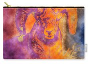 Sunrise Ram Water Color Carry-all Pouch