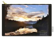 Sunrise River Mirror Carry-all Pouch