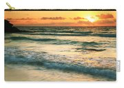 Sunrise Seascape Tulum Mexico Carry-all Pouch