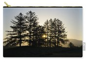 Sunrise Shines Through The Pines Carry-all Pouch