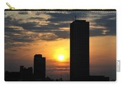 Sunrise Silhouette Buffalo Ny V2 Carry-all Pouch