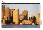 Sunrise, Skyline, Boston Carry-all Pouch