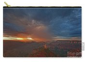Sunrise Storm North Rim Grand Canyon Arizona Carry-all Pouch