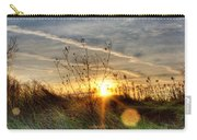 Sunrise Through Grass Carry-all Pouch