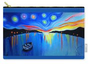 Sunrise At The Lake - Van Gogh Style Carry-all Pouch
