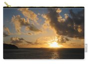 Sunrise With Clouds St. Martin Carry-all Pouch