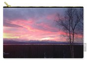Sunrise With Tree Carry-all Pouch
