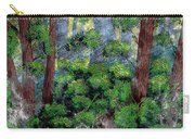 Suns Rays - Forest - Steel Engraving Carry-all Pouch