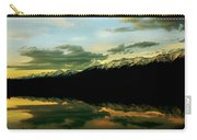 Sunset 1 Rainy Lake Carry-all Pouch