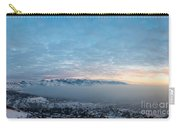 Sunset Above The Smog  Carry-all Pouch