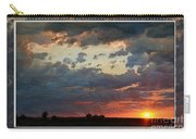 Sunset After A Thunderstorm Photoart Carry-all Pouch