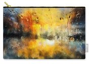 Sunset After The Storm Abstract Carry-all Pouch
