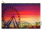 Sunset And A Sliver Moon Carry-all Pouch