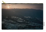 Sunset And Rice Terrace Carry-all Pouch