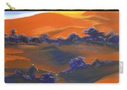 Sunset And Shadow Carry-all Pouch