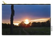 Sunset And The Dead Tree Carry-all Pouch