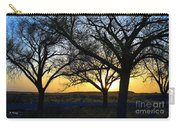Sunset And Trees Carry-all Pouch