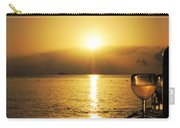 Sunset And Wine Carry-all Pouch