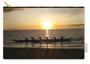 Sunset At Anaeho'omalu Bay Carry-all Pouch