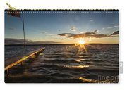 Sunset At Burt Lake Carry-all Pouch
