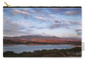 Sunset At Cachuma Lake Carry-all Pouch